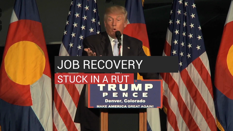 Job Recovery Stuck In A Rut