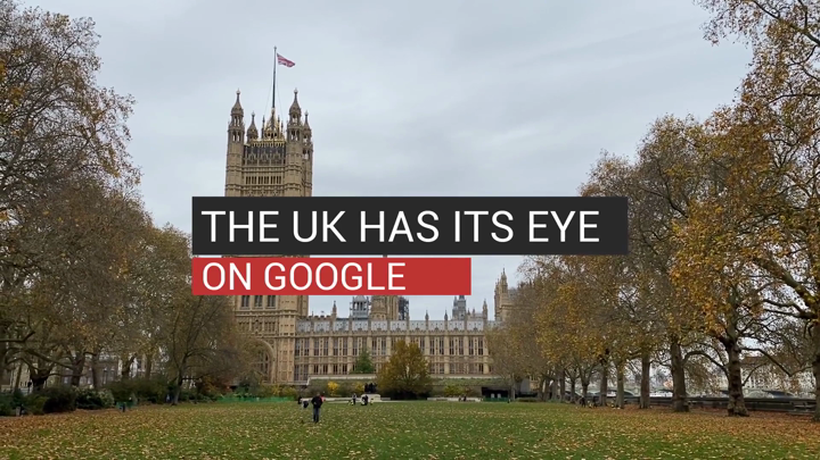 The UK Has its Eye on Google