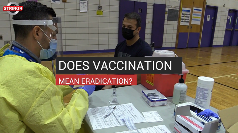 Does Vaccination Mean Eradication?