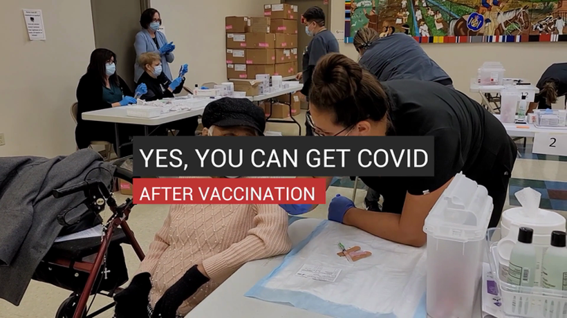 Yes You Can Get COVID After Vaccination