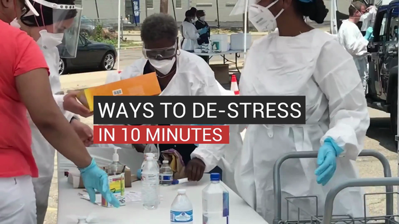 Ways To De-Stress In 10 Minutes