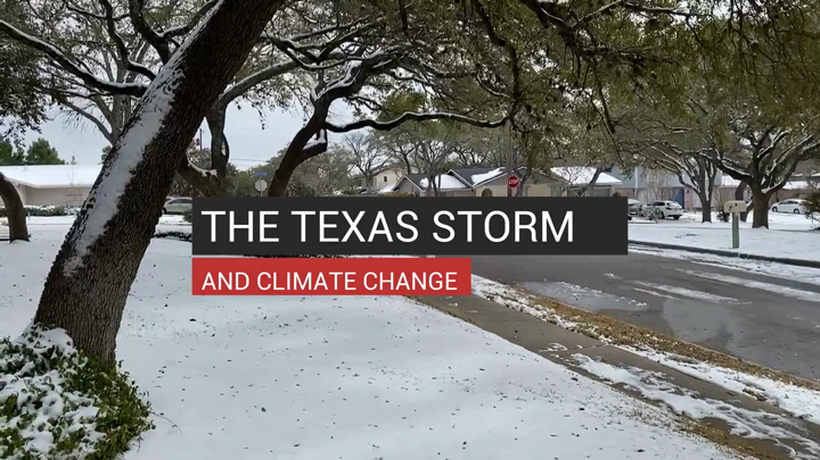 The Texas Storm And Climate Change