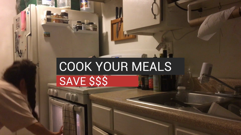 Cook Your Meals and Save Money
