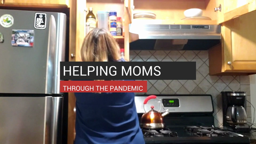 Helping Moms Through The Pandemic