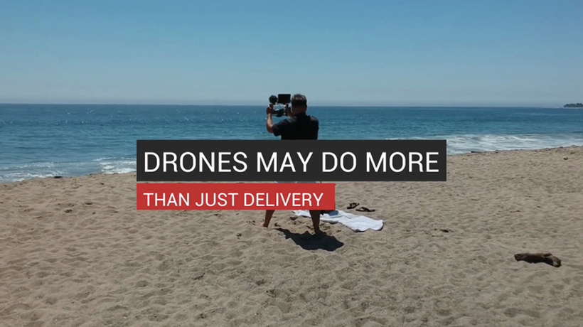 Drones May Do More Than Just Delivery