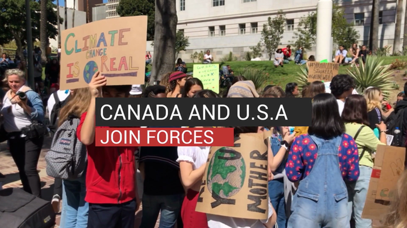 Canada and U.S.A. Join Forces