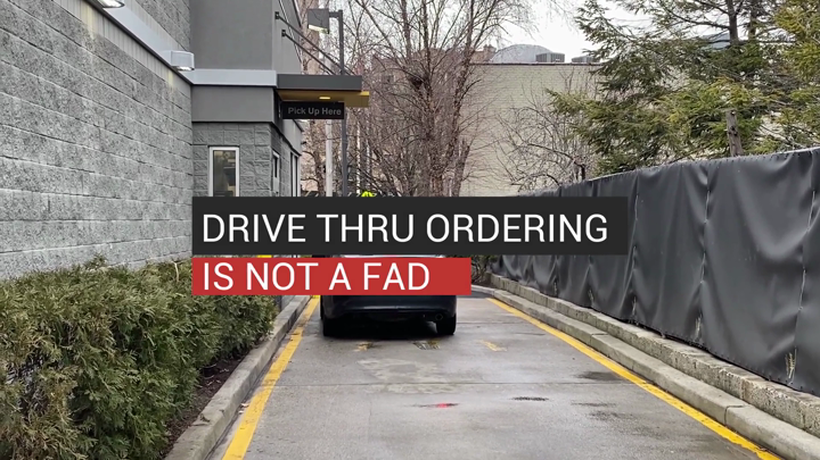 Drive-Thru Ordering Is Not A Fad