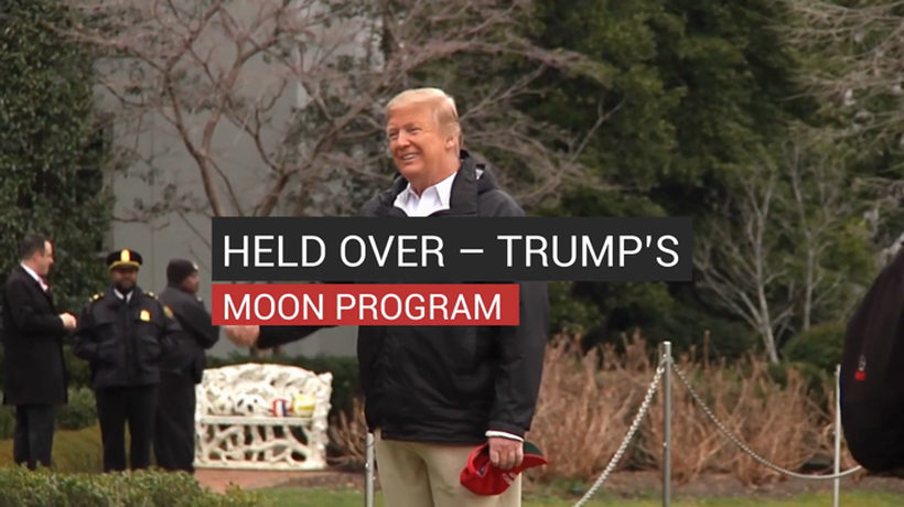 Held Over Trump's Moon Program