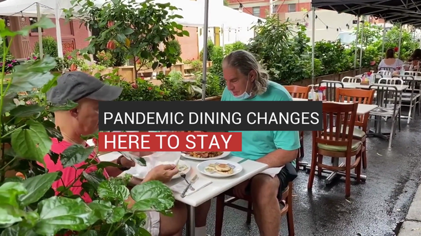 Pandemic Dining Changes Here to Stay