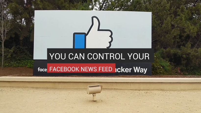 You Can Control Your Facebook News Feed