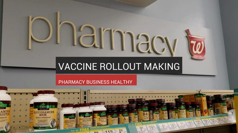 Vaccine Rollout Making Pharmacy Business Healthy