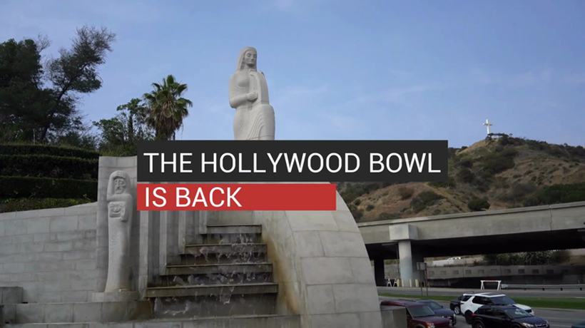 The Hollywood Bowl is Back