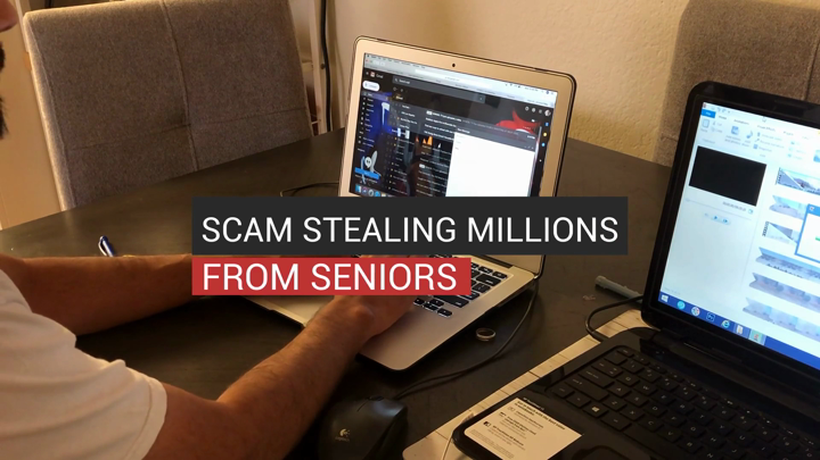 Scam Stealing Millions From Seniors