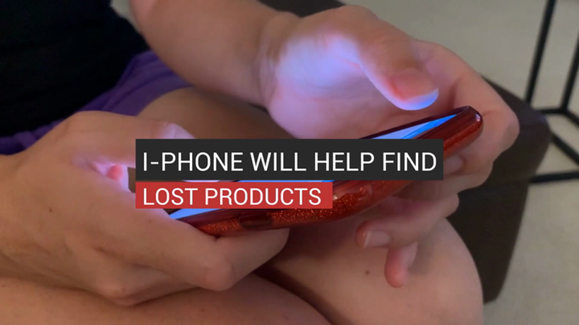 I-Phone Will Help Find Lost Products