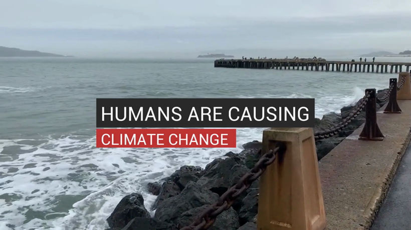 Humans Are Causing Climate Change