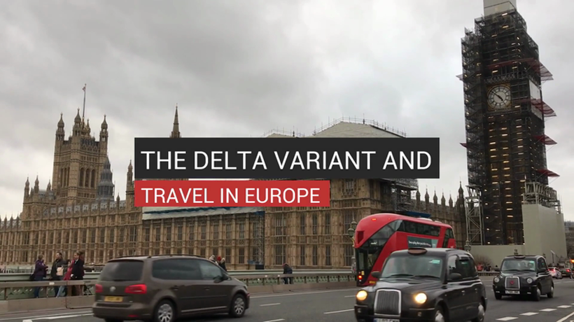 The Delta Variant and Travel in Europe