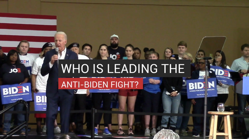 Who is Leading the Anti-Biden Fight?