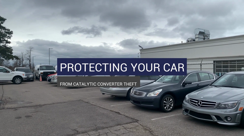 Protecting Your Car From Catalytic Converter Theft