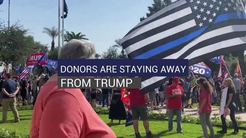 Donors are Staying Away from Trump