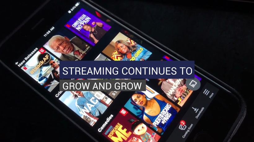 Streaming Continues To Grow And Grow
