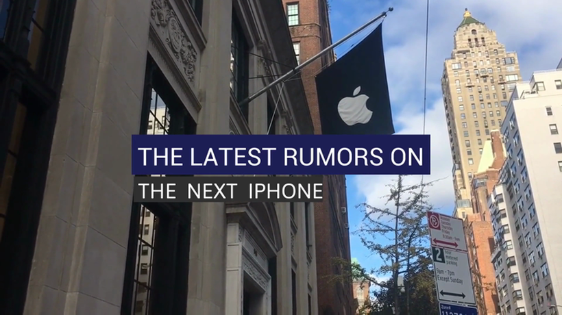 The Latest Rumors on the Next iPhone