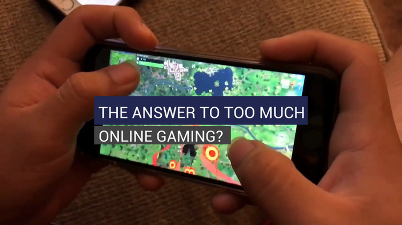 The Answer To Too Much Online Gaming?