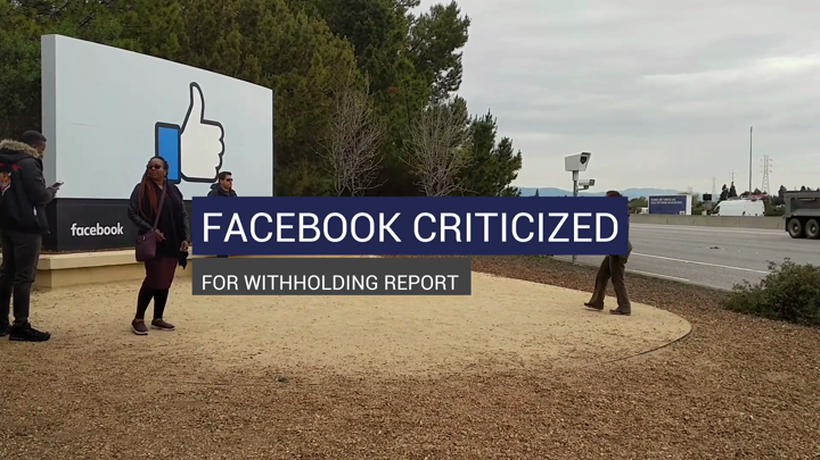 Facebook Criticized For Withholding Report