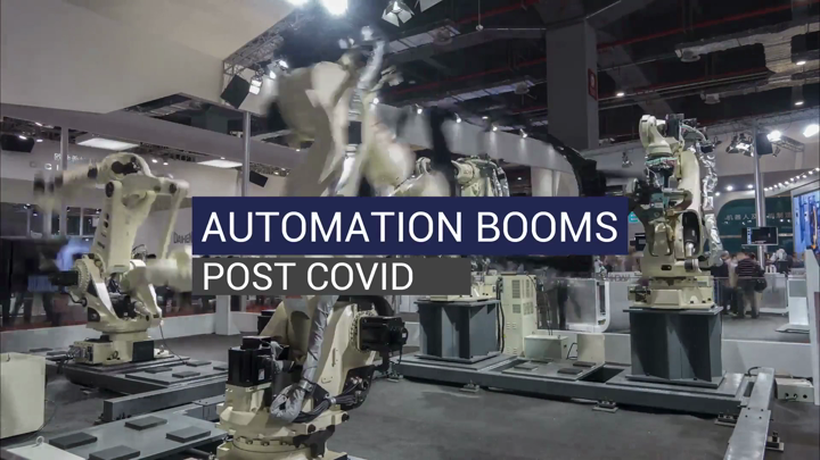 Automation Booms Post-Covid