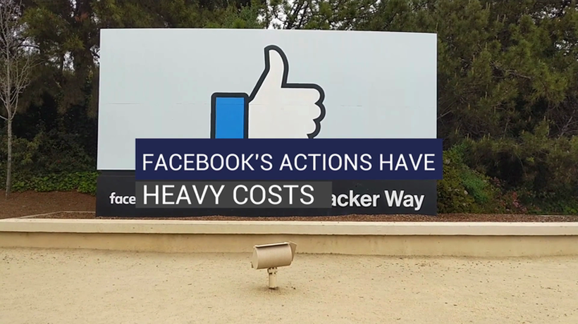 Facebook's Actions Have Heavy Costs