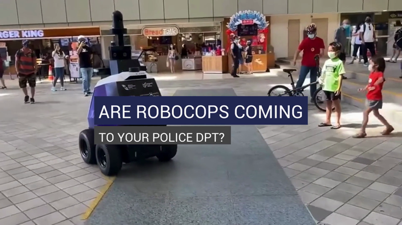 Are RoboCops Coming to Your Police Dpt?