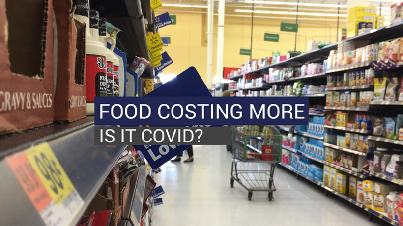 Food Costing More Is It COVID?