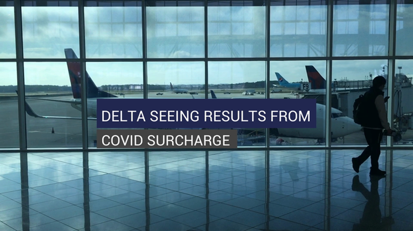 Delta Seeing Results From COVID Surcharge