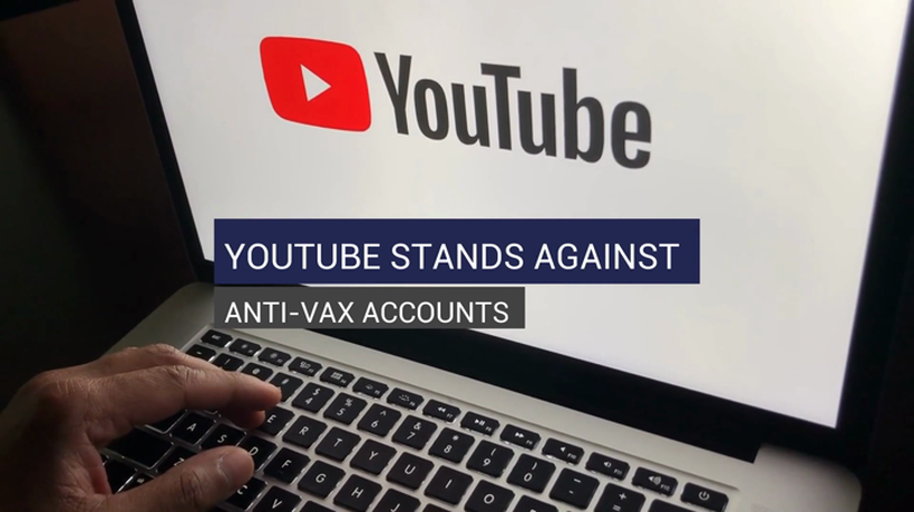 YouTube Stands Against Anti-Vax Accounts