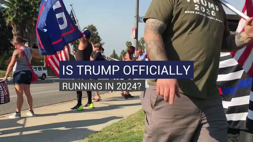 Is Trump Officially Running in 2024?