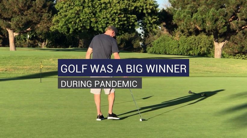 Golf Was A Big Winner During Pandemic