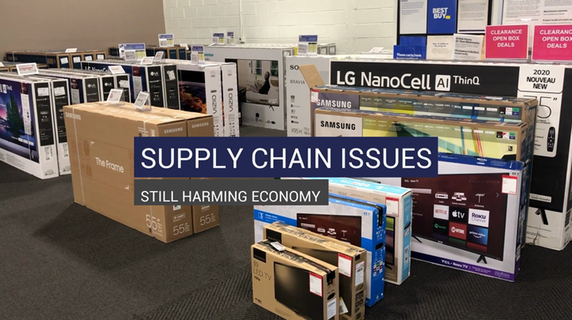 Supply Chain Issues Still Harming Economy
