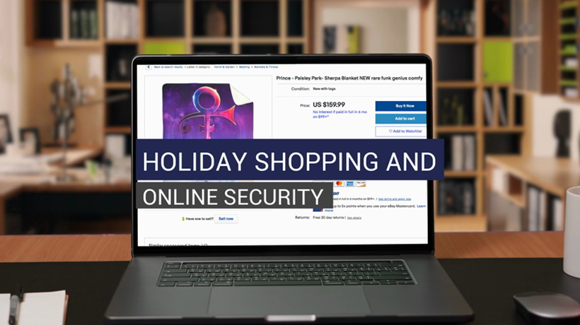 Holiday Shopping And Online Security - Subtitled