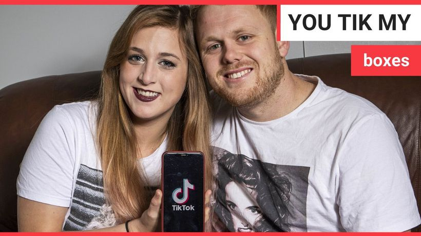 Meet the transatlantic couple who met, dated and married through TikTok