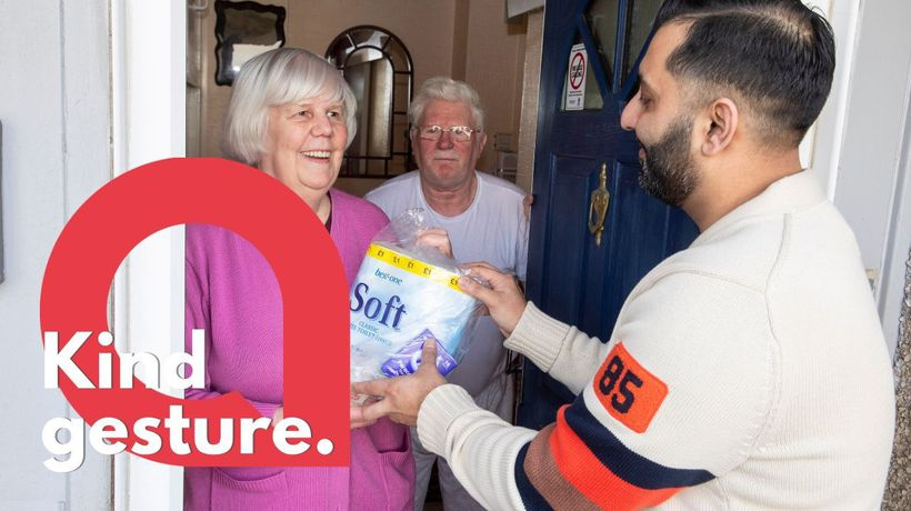 A cornershop spent £5k creating Coronavirus 'packs' for the elderly