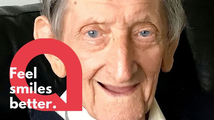 92-year-old man in self-isolation becomes viral star after singing online