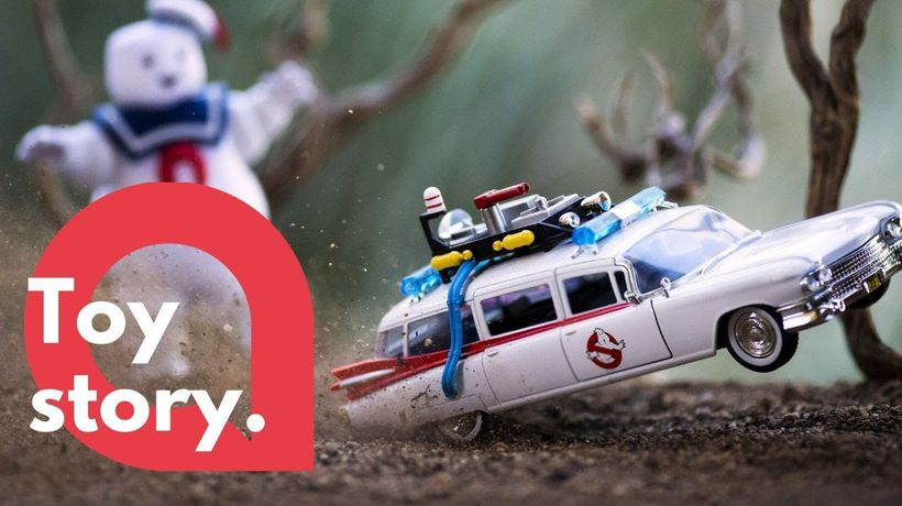 Creative dad makes a career out of toy photography
