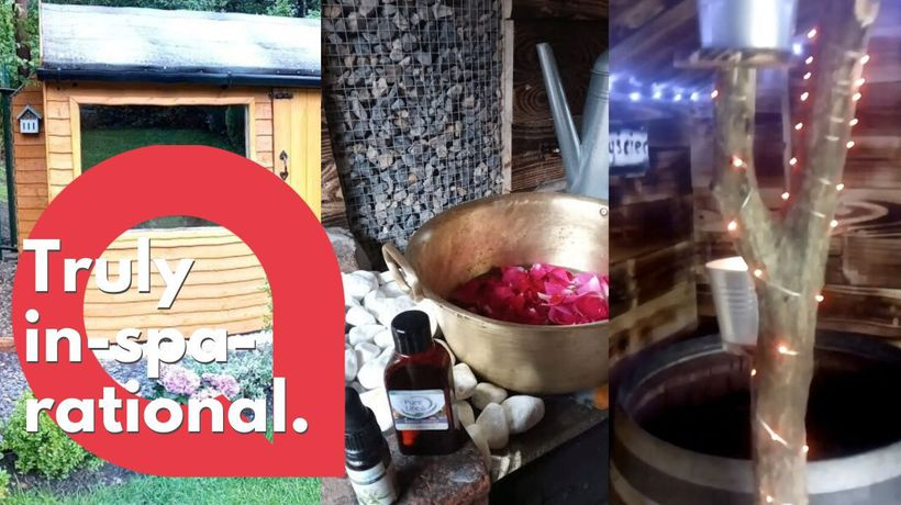 Man turns his garden shed into a proper SAUNA for less than £500