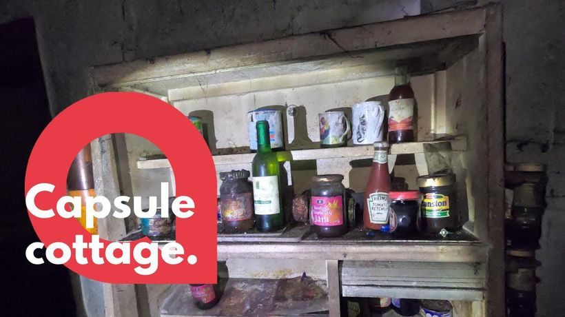 Inside time-capsule cottage that's been left untouched for decades