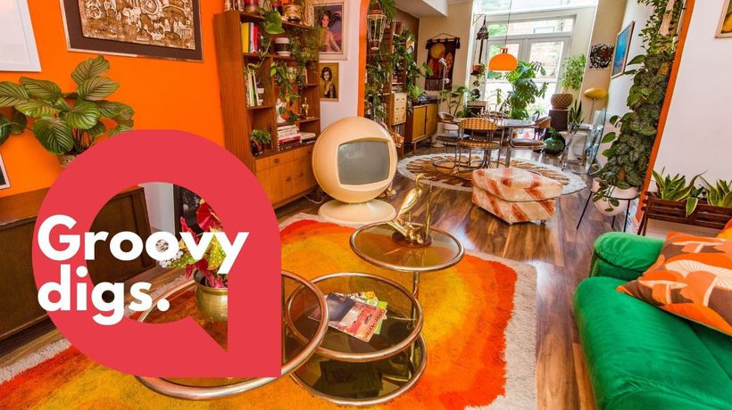 Meet the mum who has spent half a decade turning her home into a shrine to the 1970s