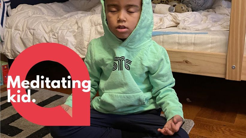 A boy, five, has raised almost $10,000 for the homeless this Christmas by MEDITATING