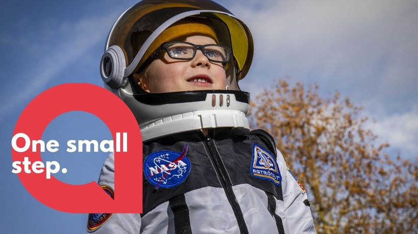 Meet the six-year-old boy whose knowledge of space is so cosmic he's received a message from Tim Pea