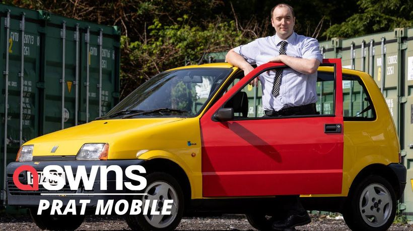 The famous 'Bus W*nkers' car from the Inbetweeners TV show is up for sale
