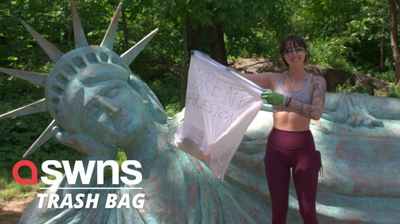 Heroic Colorado woman spent 23 DAYS picking up TRASH across the US!