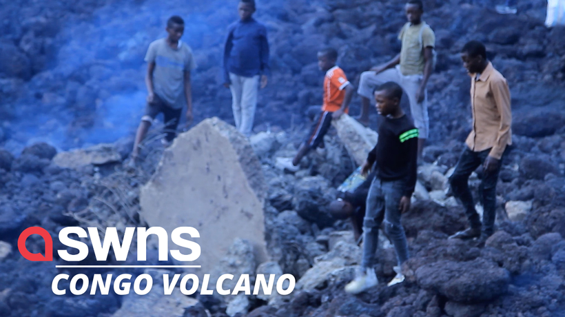 Hundreds of homes destroyed after volcanic eruption in Democratic Republic of Congo