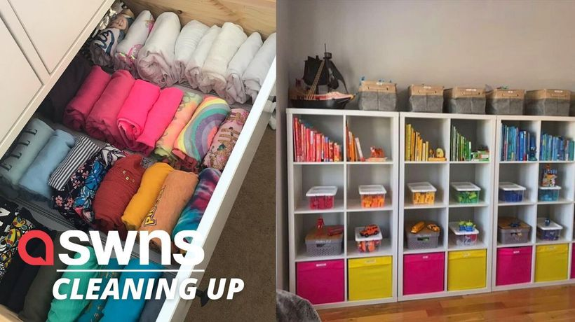 A UK decluttering expert inspired by Marie Kondo is booming with clients including WAGS and TOWIE st